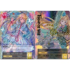 Alice, Girl of the Lake / Alice, Fairy Queen - FULL ART - R MINT ENG