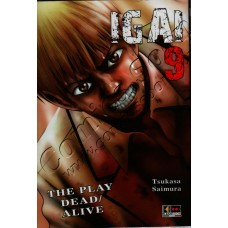 IGAI THE PLAY DEAD ALIVE 9 - Flash Book - NUOVO