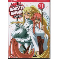 MONSTER MUSUME 11 - Jpop - NUOVO