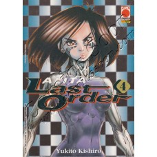ALITA LAST ORDER 4 - ALITA COLLECTION 15 - Planet Manga - USATO