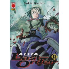 ALITA LAST ORDER 13 - ALITA COLLECTION 24 - Planet Manga - Panini Comics - NUOVO