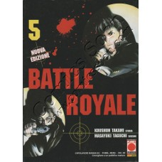 BATTLE ROYALE 5 - Planet Manga - Panini Comics - NUOVO